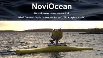 Vågkraftsutvecklare Novige AB går framåt, 4.25 miljoner beviljat i bidrag