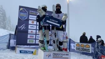 Ludvig Fjällström vinner världscupen i Idre Fjäll