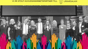 2018 års vinnare på Lärargalan