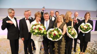 Preisträger und Laudatoren des Felix Burda Award 2016