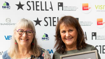 Stellahederspris och Lena Linderholm
