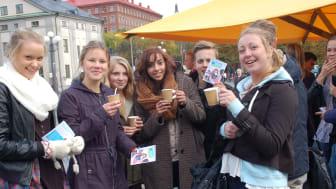 Nytt svenskt rekord: 1 av 25 svenskar deltog i Fairtrade Challenge