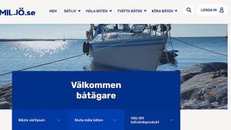 Nya Båtmiljö.se, hemsida med allt och lite till för ett hållbart båtliv.