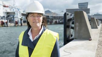 Martina Ludvigsson, VD på skånska Port Suppliers Group, har tidigare fått stöd till internationalisering genom Region Skånes affärsutvecklingscheckar.