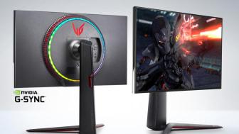 LG:n uudessa huippuluokan pelinäytössä on 4K-resoluutio ja yhden millisekunnin GtG-vasteaika