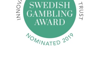 15 finalister i Swedish Gambling Award 2019