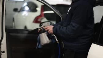 Kvdbil slutar med konventionell biltvätt