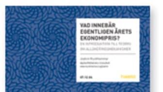 Timbrorapport förklarar årets ekonomipris