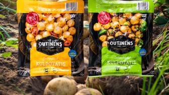 """""""Att märka vår kulpotatis med Från Sverige-märkningen är något som vi är stolta över och som känns självklart för oss,"""" sägerKarl-Johan Outinen, vd och ägare på Outinens, som märker med Från Sverige."""