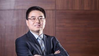 Huawei utser David Liu till ny VD i Sverige. (Foto: Huawei Techonolgies AB)
