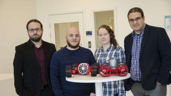 Forskarna bakom vortexroboten