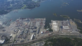 Freight terminal in central Gothenburg moves to the Port of Gothenburg.