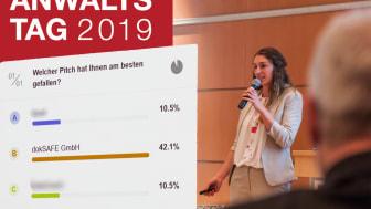 ACTAPORT pitcht Cloud-Lösung auf dem Deutschen Anwaltstag 2019