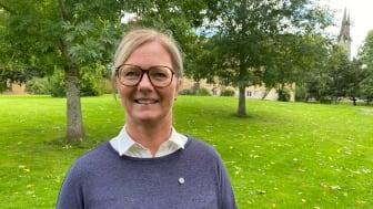 Marie Andreasson är platschef vid SLU i Skara. Foto: Vanja Sandgren