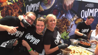 OUMPH! - A SUCCESS AT JUST V SHOW