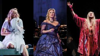 """Hauptdarstellerinnen aus """"Lohengrin"""",  """"Capriccio"""" und """"Il trovatore"""" - Foto: Oper Leipzig"""