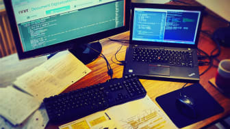 Coding from home on the NNIT document Digitalization Service