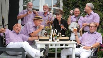 Jazz i museumshaven_Blå Mandag Jazzband_Blå mandag Jazzband