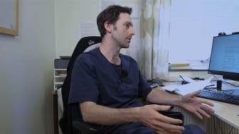 Enskilda röster inom läkarkåren höjas mot den stora användningen av antidepressiva. André Marx på Björkhagens husläkarmottagning är en av dem. Foto: Equal