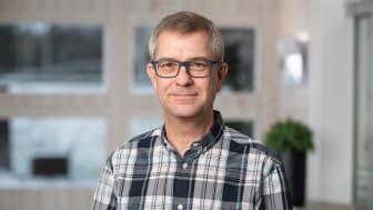 Tomas Lundberg, Swerim projektledare för projektet EnVisA ‒ Energivisualisering med artificiell intelligens (AI).