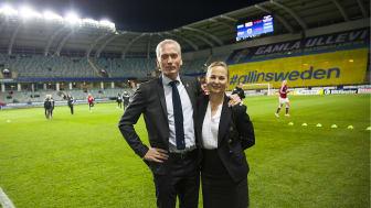 Rekordpublik på Nationalarenan Gamla Ullevi ikväll