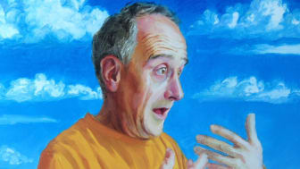 Stammering self portrait by Paul Aston