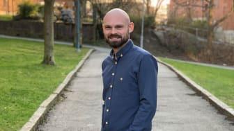 Hagers nya Content Marketing Manager Fredrik Fermén kommer närmast från innehållsbyrån Rubrik.