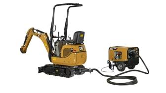 Cat 300.9D VPS hydraulisk minigrävare