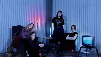 Hedda Hatar från Lund är ett av årets åtta NEMIS-band på Sweden Rock. (NEMIS står för New Music In Sweden)