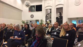 31 produktidéer fick juryn bedöma under den intensiva dagen. Foto: Marie Holmström