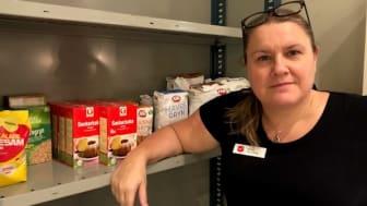 Marie Blomberg är verksamhetsansvarig på Frälsningsarmén Borås.