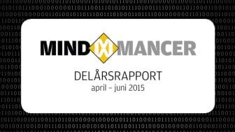 Delårsrapport för Mindmancer AB (publ) Q2 2015