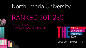 Northumbria sees rapid rise in global rankings