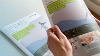 amedes Update Kundenmagazin - neue Ausgabe