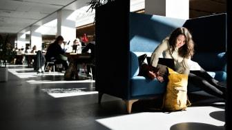 Clara Dalsgaard Hansen læser historie på 2. semester på KUA2
