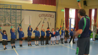 Pupils have been working to perfect their routines