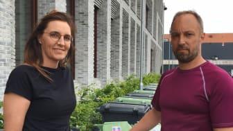Vejen Kommune udstiller de nye affaldsbeholdere