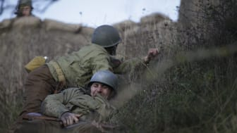 Scener ur dokumentären Ögonvittne Dagen-D som har premiär 4 juni 21.00 på National Geographic