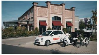 Eigene Flotte, eigenes Bestellsystem: L'Osteria lebt auch im Bereich Delivery die Liebe zum Detail