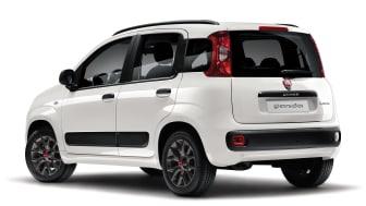 Panda Anniversario. Bilen er vist med ekstraudstyr.
