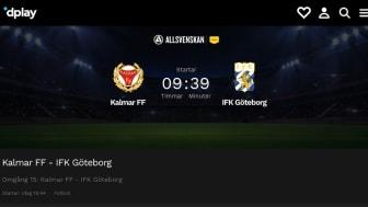 Se Allsvenska matcher med hjälp av QTF
