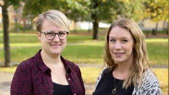 De blivande barnmorskorna Frida Moqvist och Emelie Sörensen har i sitt examensarbete vid Högskolan i Skövde undersökt hur restriktionerna i vården till följd av pandemin påverkat blivande pappor.