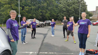Calderdale stroke professionals take on fundraising relay to help rebuild lives