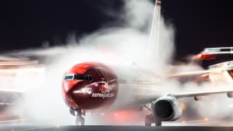 Norwegian 737-800   Photo: Jørgen Syversen