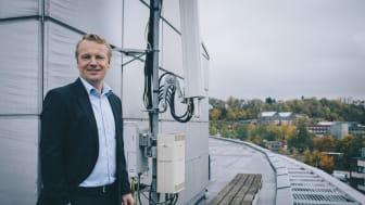 Ny rolle: Jon Christian Hillestad tar steget over fra teknisk direktør til leder for Telia Bedrift.