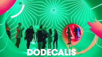 Den stora ljusskulpturen Dodecalis av brittiska Architects of Air är en av nyheterna på Malmöfestivalen. På bilden syns ett liknande verk av Architects of Air.