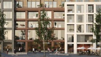 Bostads- och kontorsprojektet Kv. Fabriken av MAF Arkitektkontor