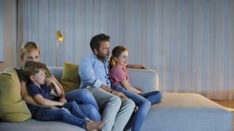 Selv om mye av samfunnet har åpnet opp igjen vedvarer høye TV-tall blant Telenor T-We sine kunder.