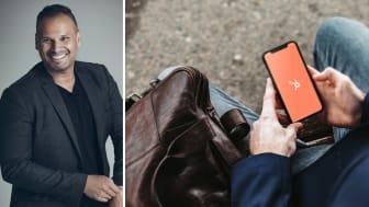 Magnus Brynestam hjälper Bjurfors att ta steget upp på den digitala plattformen Hubspot. Foto: Lena Evertsson.