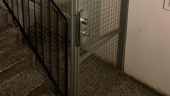 Troaxburar till källarförråd i Hammarkullen